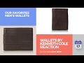 Video for rfid wallet kenneth cole