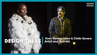 Belgian artist Koen Vanmechelen and Zimbabwean activist Chido Govera talk about the Planetary Commun