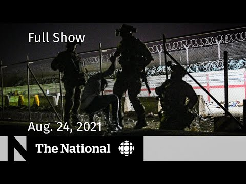 CBC News: The National | Escape from Kabul, B.C. mask mandate, Young voters
