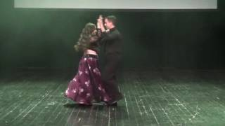 1. Shireen i Filip Debelec - Bellydance Latino improvisation