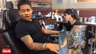 GETTING A HAND TATTOO & RUINED MY LIFE!??? | VLOG 001