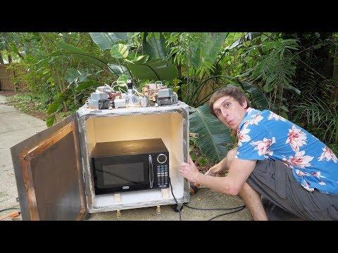 DIY MEGA Microwave! – Microwaving a Microwave