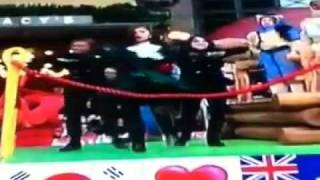 Zendaya performing Dig Down Deeper at the 5th Annual Macy's Thanksgiving Day Parade