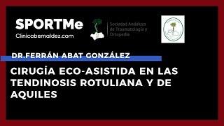 Cirugía Eco-Asistida en las Tendinosis Rotuliana y de Aquiles - Dr. Ferrán Abat González