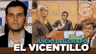"""Vicente Zambada """"El Vicentillo""""  testifica en juicio de El Chapo Guzmán #JuicioChapo"""