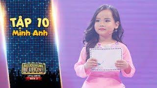 Người hùng tí hon 3 | Tập 10: Minh Anh chạm đến trái tim khán giả với những chia sẻ về mẹ
