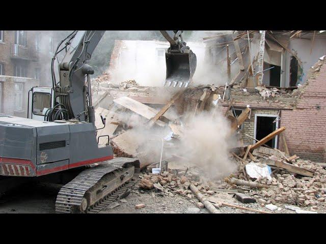 В Ангарске начались работы по демонтажу первой «хрущёвки»