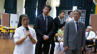 Sr. Cecilia Wong, Episcopal Delegate for Education visited YCK2