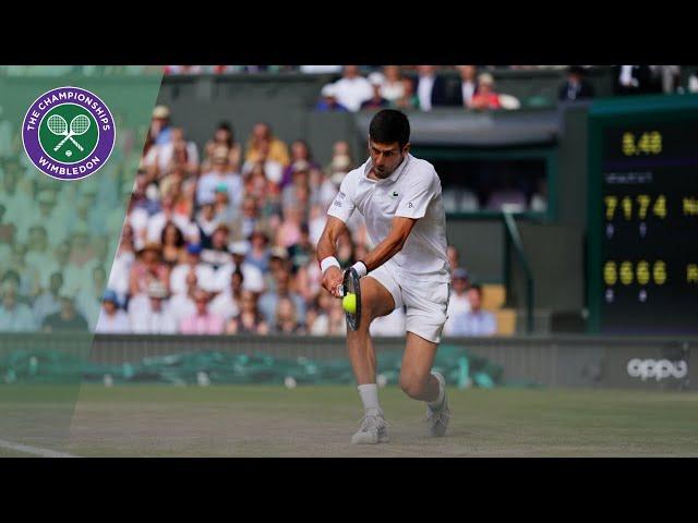 Wimbledon 2019: N.Djokovic - R.Federer