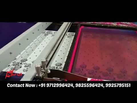 Flatbed Textile Printing Machine