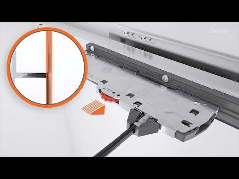 Blum Movento Full Extension Drawer Pull-Out 760H Tip-On