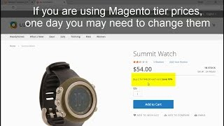 How to Update Magento Tier Prices Massively