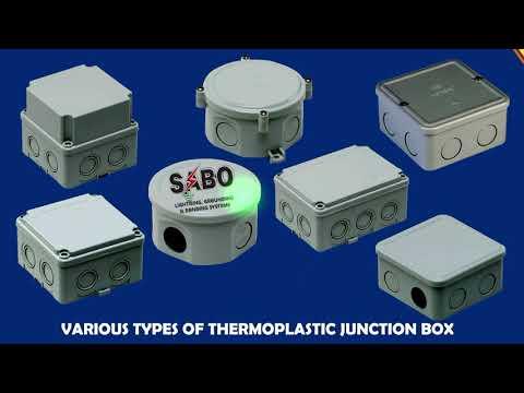 Aluminum Junction Box (HINGED)