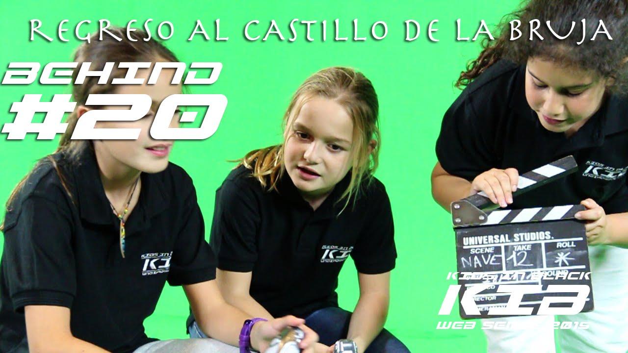 Regreso al Castillo de la Bruja - Kids In Black 2015 - Detrás de las cámaras #20