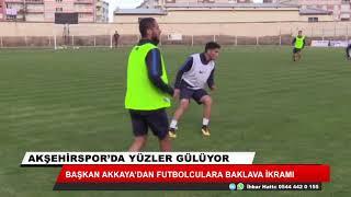 Akşehirspor'da yüzler gülüyor