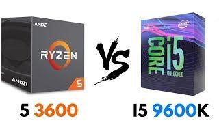 ryzen 5 3600 vs i5 9600k oc - Thủ thuật máy tính - Chia sẽ kinh