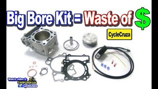 Why BIG BORE Kit Is BAD For Motorcycle    MotoVlog