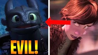 10 Strange Things You Missed in How To Train Your Dragon 3