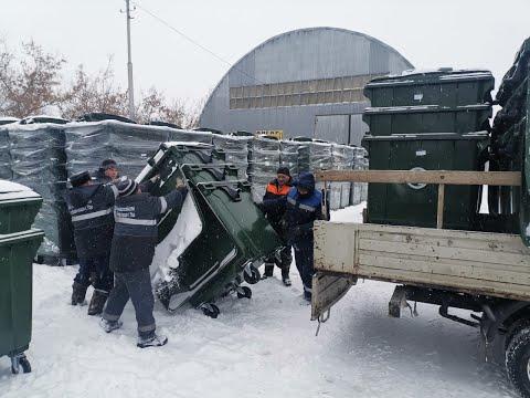 В Уфе в рамках нацпроекта «Экология» обновляют контейнеры для мусора