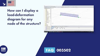 FAQ 003502 | How can I display a load-deformation diagram for any node of the structure?