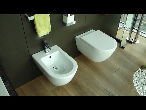 Tess WC Bidet Rettangolo Armaturen Rettangolo Bad Accessoires