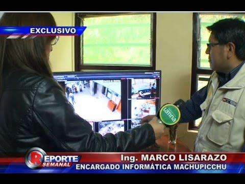 'Los ojos de Machu Picchu': Cámaras de seguridad son los aliados de la policía