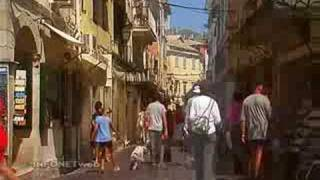 preview picture of video 'Corfu-Greece.com presents Corfu Town, Liston views'
