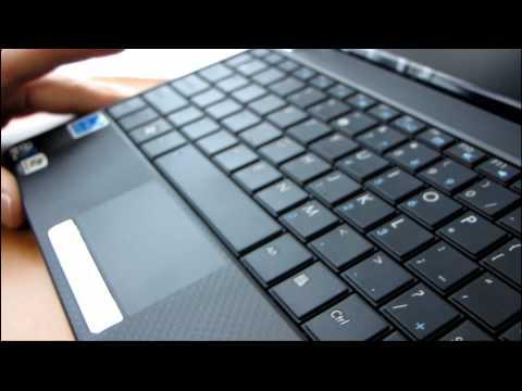 ASUS EEE PC 1001P Black Netbook Unboxing & First Look Linus Tech Tips