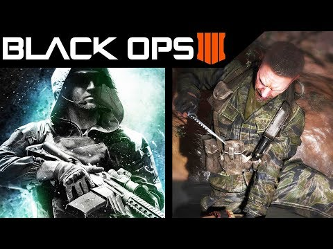 Call of Duty Black Ops 4 Modern Setting Hints - New Info Found - COD 2018 Treyarch
