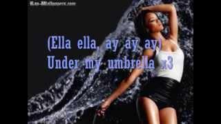Rihanna Umbrella Lyrics [Official Lyrics On Screen]