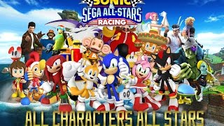 Sonic & SEGA All Stars Racing All Characters All Stars (PC)