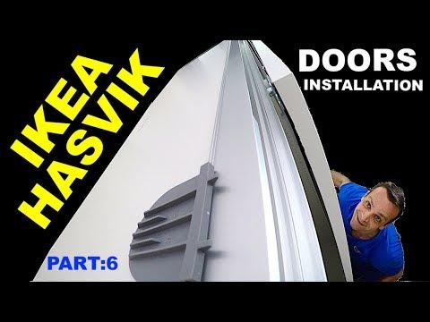 IKEA Pax sliding doors installation  HASVIK
