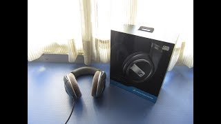 Sennheiser HD 579 HEADPHONES - Unboxing and Review!