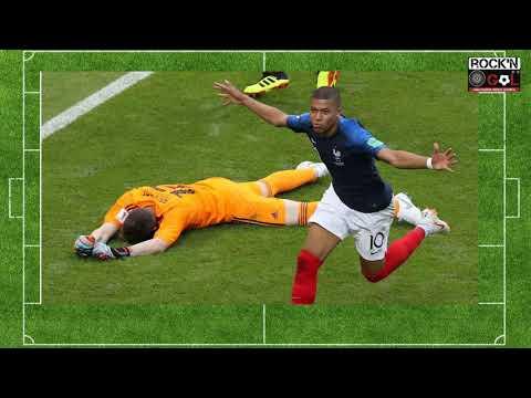 Goles en Francia 4 - Argentina 3 por Monolao Corredor. Mundial De Fútbol 246da900c5c