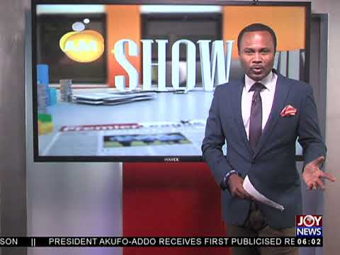 AM Show Intro on JoyNews (9-8-18)