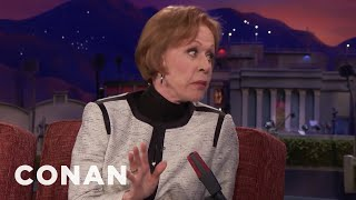 "Carol Burnett Apologized For Her Performance In ""The Front Page""  - CONAN on TBS - Video Youtube"