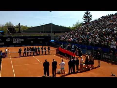 WTA Prague Open J&T Banka 2016 final ceremony Stosur Safarova
