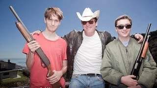 Michael Madsen, a proud Hollywood gun owner