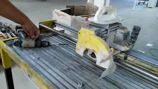 Техника не выдерживает объёмы! Ремонт плиткореза Корвет 469.