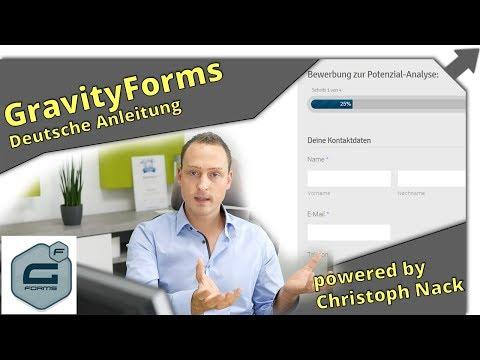 KontaktFormulare für Bewerbungen, Umfragen, Bestellformulare uvm. mit GravityForms für Wordpress