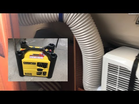 Installing AC in Beneteau Sailboat / Champion 2000W Generator Review