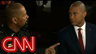 David Clarke and Don Lemon's heated exchange on police shootings
