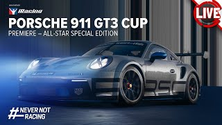 Porsche 911 GT3 Cup (992) iRacing Prämiere - All-Stars Special Event - iRacing Livestream