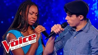 The Voice 2015│Lilian Renaud VS Nina - Seras-tu là ? (Michel Berger)│Battle