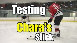 Beer Leaguers Try Using Charas Stick