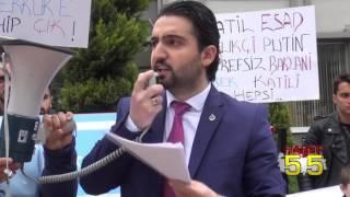 SAMSUN'DA ALPERENLERDEN KERKÜK VE İDLİB TEPKİSİ
