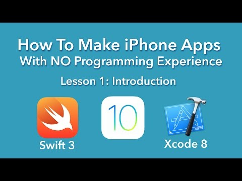 How To Make an App – Ep 1 – Introduction (Xcode 8, Swift 3, iOS 10)