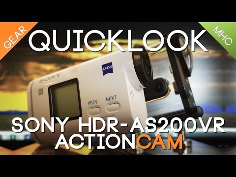 Quicklook Sony HDR-AS200V Part 1 Hardware