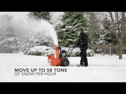 Ariens Compact 20 in Greenland, Michigan - Video 1