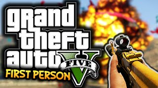 GTA 5: Next Gen Funny Moments! #1 - First Person, Hammer Time, Cats!